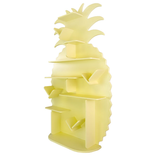 Étagère pour enfant Ananas en bois vue de droite
