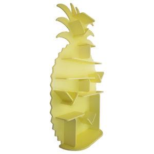 Étagère pour enfant Ananas en bois vue de gauche