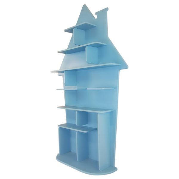 Étagère pour enfant Maison en bois vue de droite